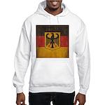 Vintage Germany Flag Hooded Sweatshirt