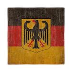 Vintage Germany Flag Queen Duvet
