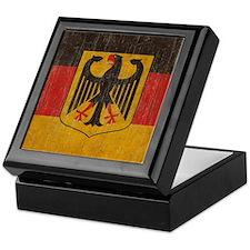 Vintage Germany Flag Keepsake Box