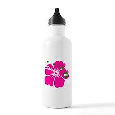 Hawaii Islands & Hibiscus Water Bottle