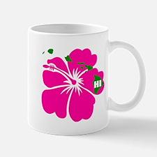 Hawaii Islands & Hibiscus Mug