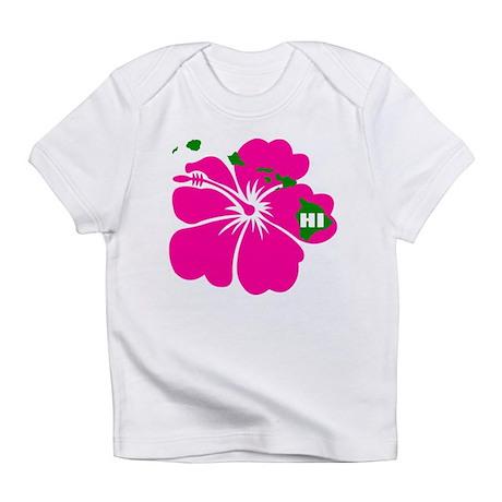 Hawaii Islands & Hibiscus Infant T-Shirt