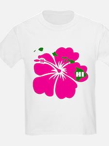Hawaii Islands & Hibiscus T-Shirt