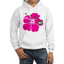 Hawaii Islands & Hibiscus Hoodie