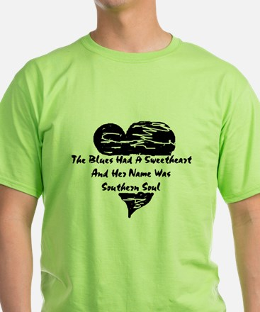 W10 T-Shirt: The Blues Had A Sweetheart...