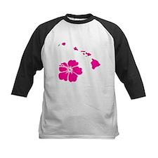 Aloha Hawaii Islands & Hibiscus Tee