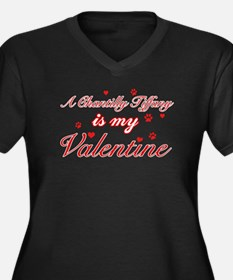 A Chantilly Tiffany is my valentine Women's Plus S