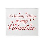 A Chantilly Tiffany is my valentine Stadium Blank