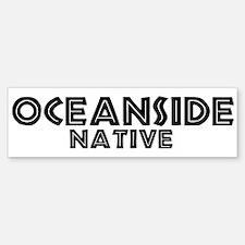 Oceanside Native Bumper Bumper Bumper Sticker