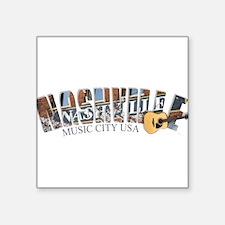 Nashville Music City-02 Sticker