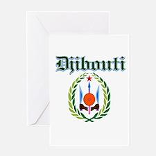 Djibouti designs Greeting Card