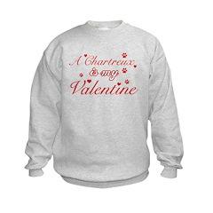 A Chartreux is my valentine Sweatshirt