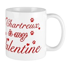 A Chartreux is my valentine Small Mug