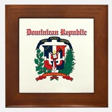 Dominican Republic designs Framed Tile