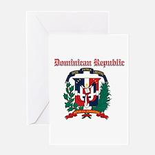 Dominican Republic designs Greeting Card