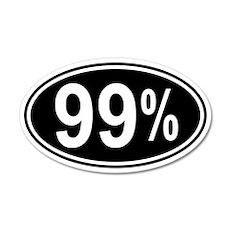 99 Percent 22x14 Oval Wall Peel