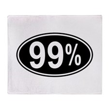 99 Percent Throw Blanket