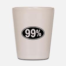 99 Percent Shot Glass