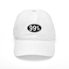 99 Percent Baseball Baseball Cap