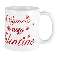 A Cymric is my valentine Mug