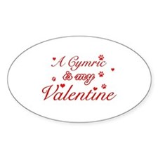 A Cymric is my valentine Decal