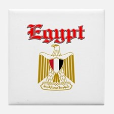 Egypt designs Tile Coaster