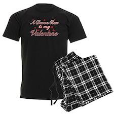 A Devon Rex is my valentine Pajamas