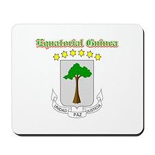 Equatorial Guinea designs Mousepad