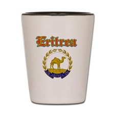 Eritrea designs Shot Glass