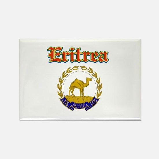 Eritrea designs Rectangle Magnet