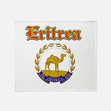 Eritrea designs Throw Blanket