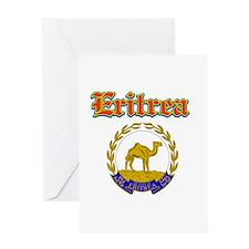 Eritrea designs Greeting Card