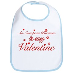 An European Burmes is my Valentine Bib