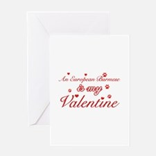 An European Burmes is my Valentine Greeting Card