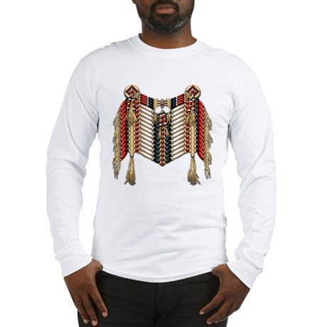 Native American Breastplate 10 Long Sleeve T-Shirt