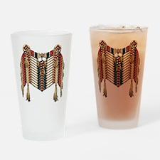 Native American Breastplate 10 Drinking Glass