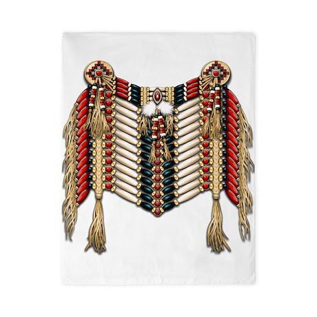 Native American Breastplate 10 Twin Duvet
