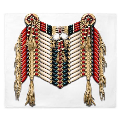 Native American Breastplate 10 King Duvet