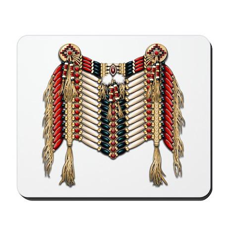 Native American Breastplate 10 Mousepad