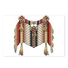 Native American Breastplate 10 Postcards (Package