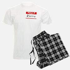 Kellie, Name Tag Sticker Pajamas