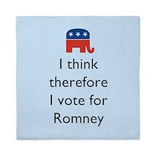 I Think Romney Queen Duvet