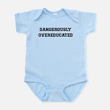 Dangerously Overeducated Infant Bodysuit
