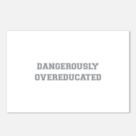 Dangerously Overeducated Postcards (Package of 8)