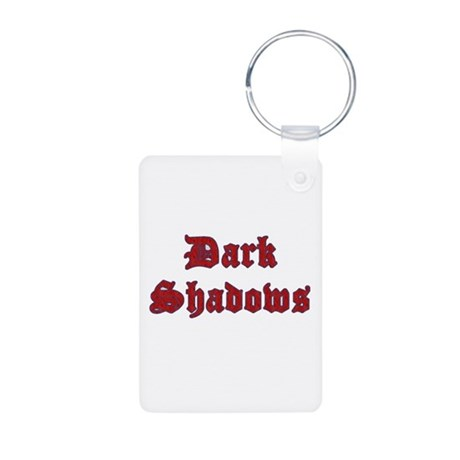 Dark Shadows Aluminum Photo Keychain