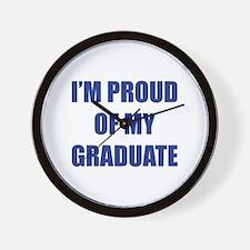 I'm proud of my graduate Wall Clock