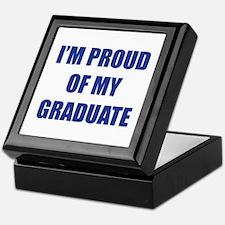 I'm proud of my graduate Keepsake Box
