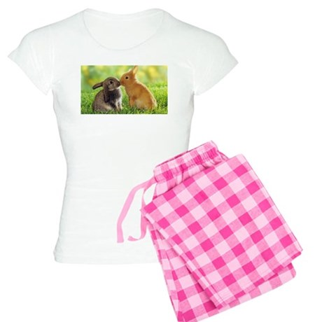 Love Bunnies Women's Light Pajamas