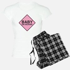 Baby on Board pajamas