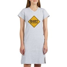 Baby on Board Women's Nightshirt